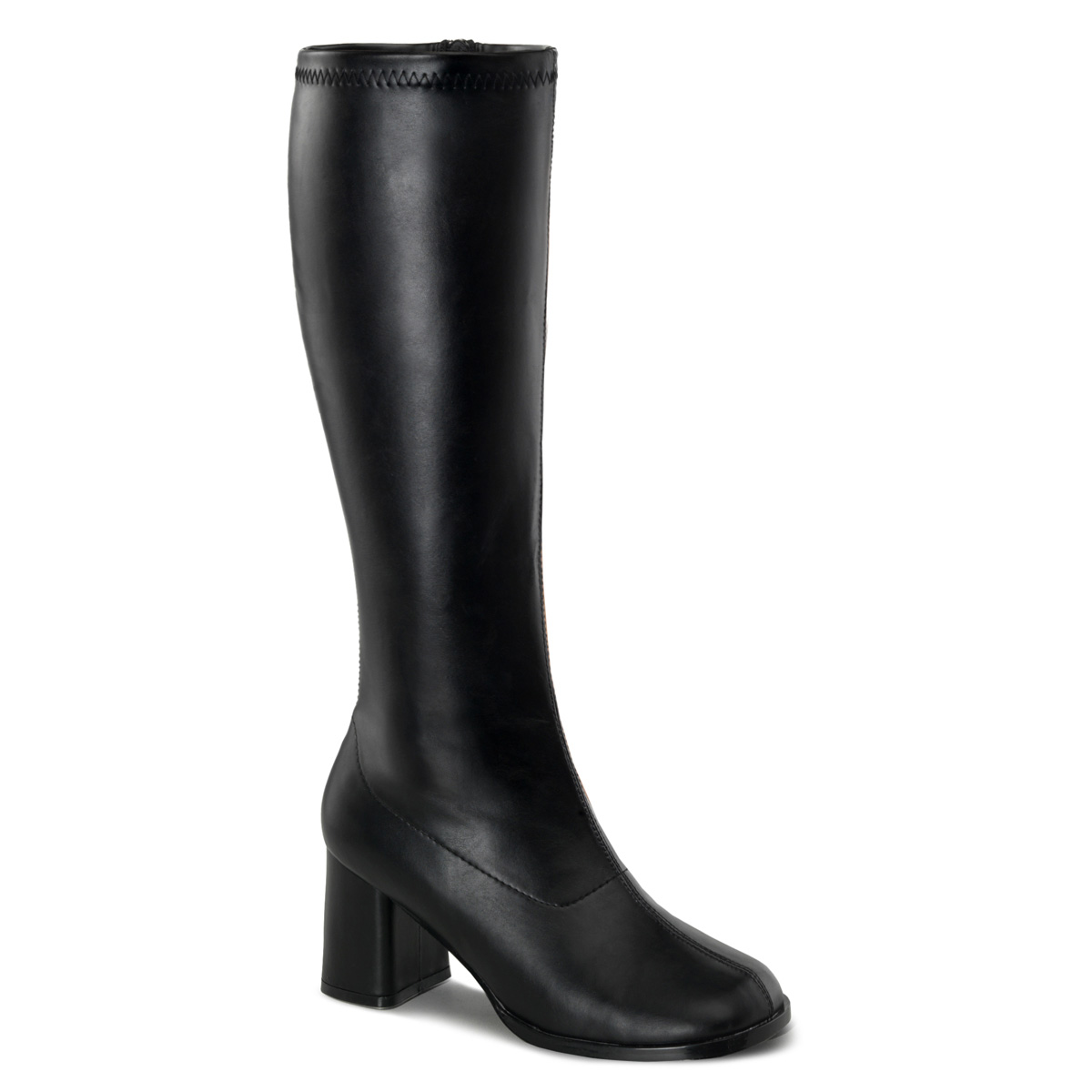 Funtasma by Pleaser Women's Gogo-300 Boot - Black Stretch Pu at Sears.com
