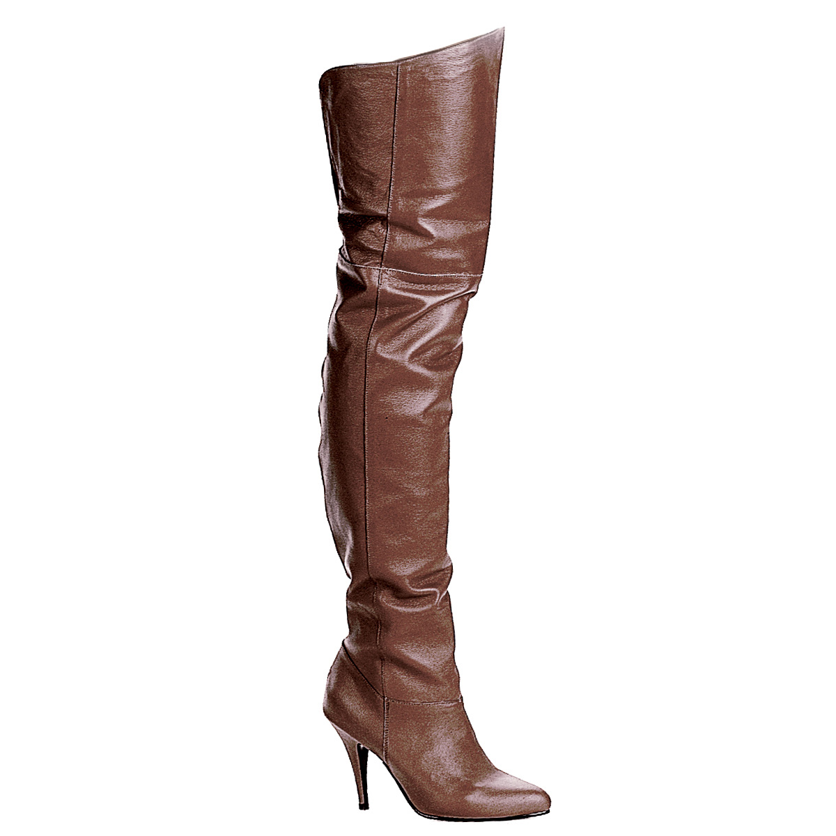 pleaser legend 8868 s pull on thigh boots with