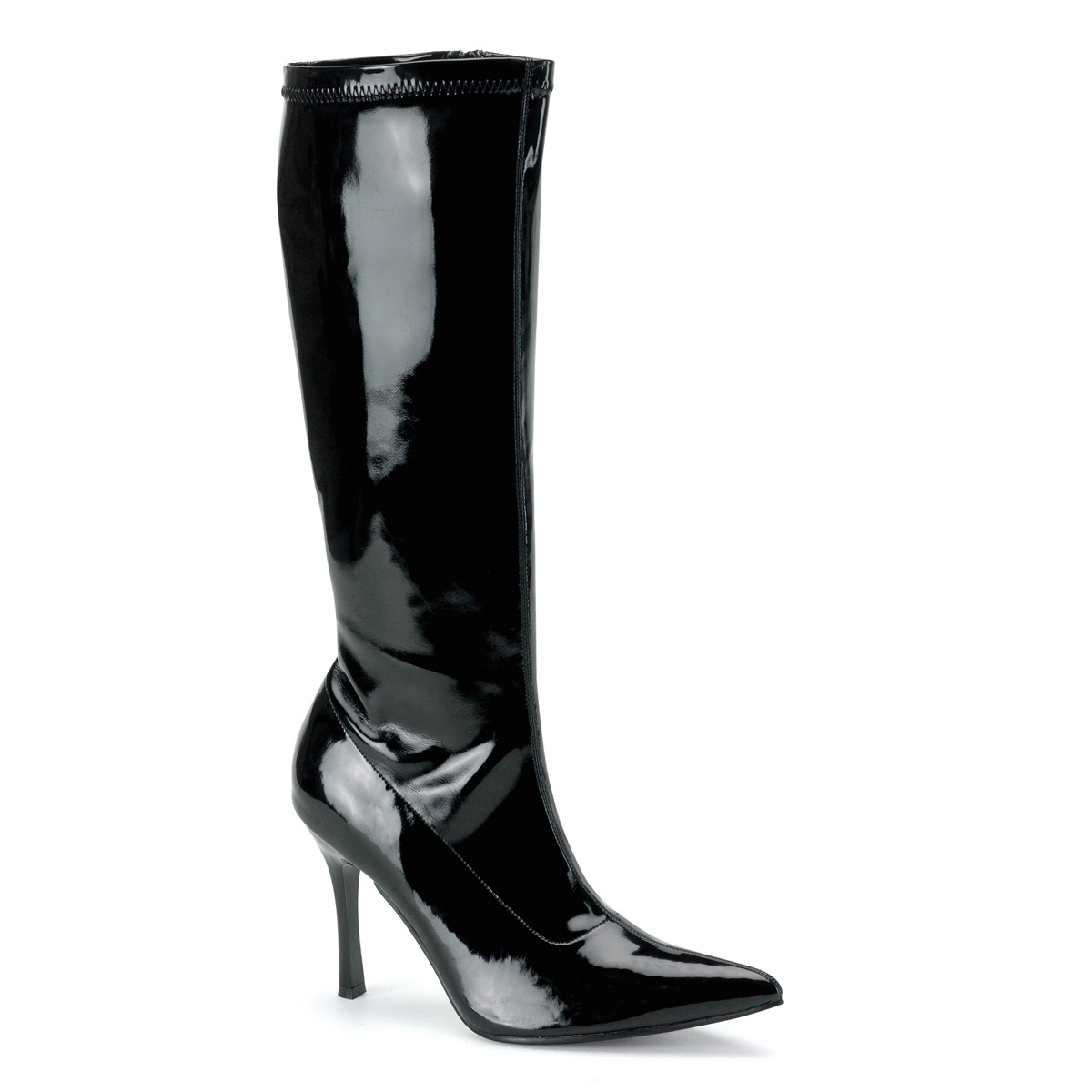 "FUNTASMA Blk Str Pat Knee Boot, 3 3/4"" at Sears.com"