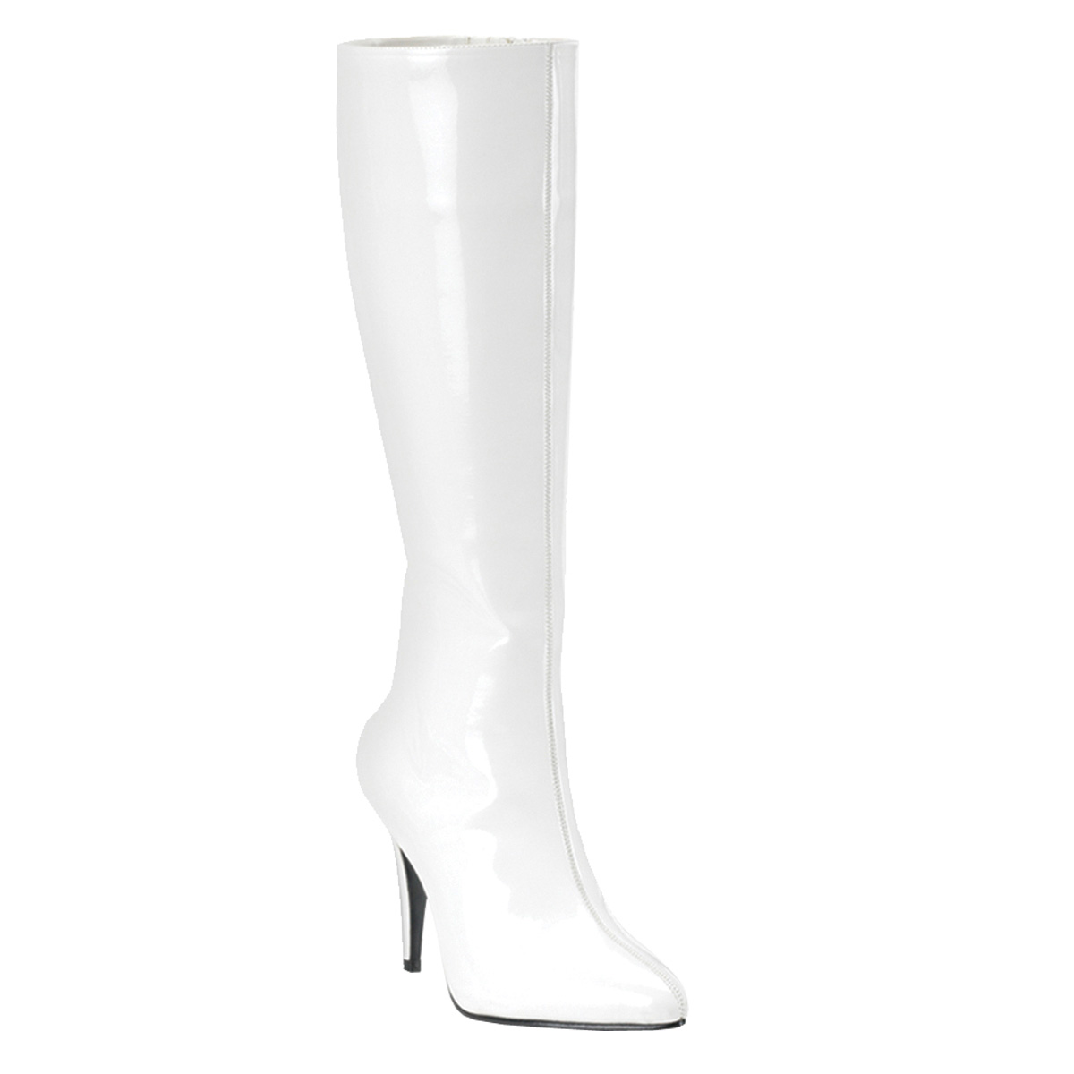 Funtasma by Pleaser Women's Lust-2000 Boot - White Stretch Patent at Sears.com