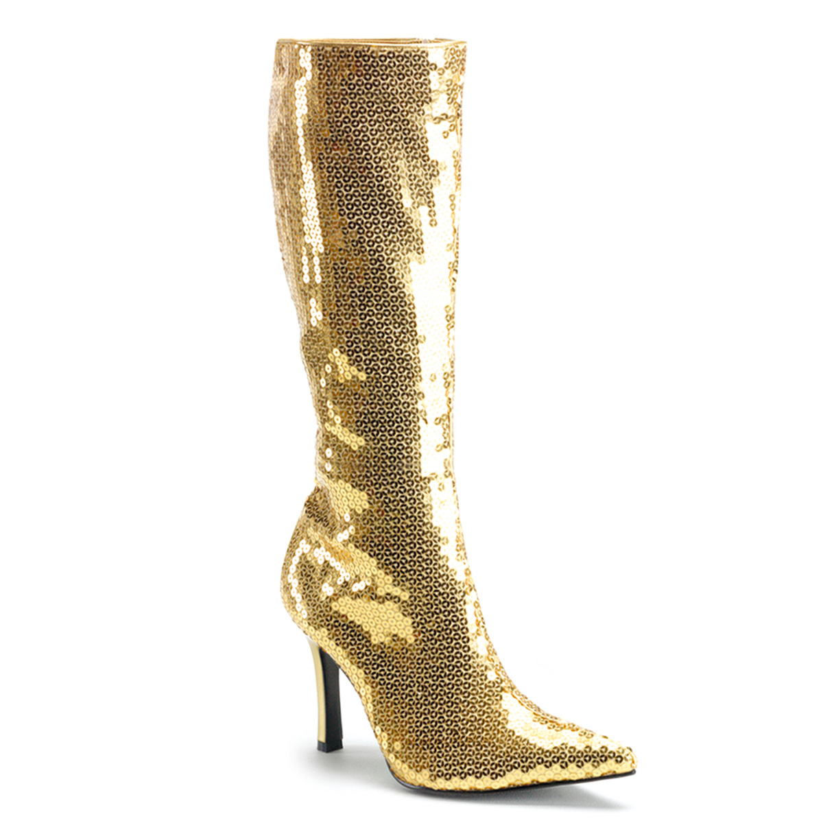 Funtasma by Pleaser Women's Lust-2001 Boot - Gold Sequins at Sears.com