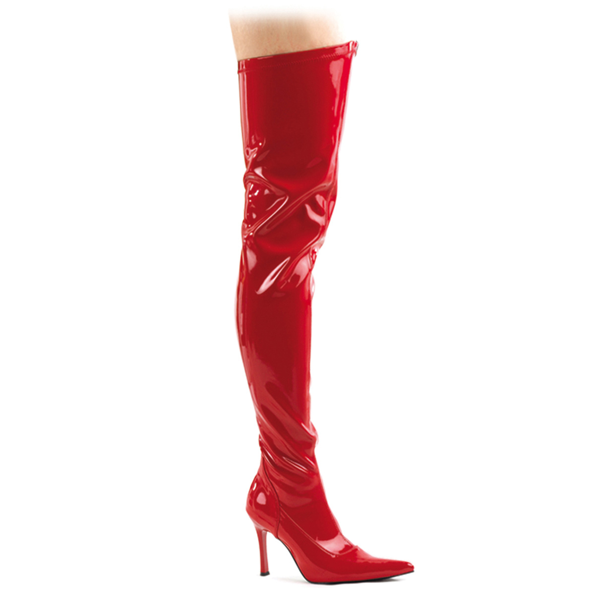 "FUNTASMA Red Str Pat Thigh Boot, 3 3/4"" at Sears.com"