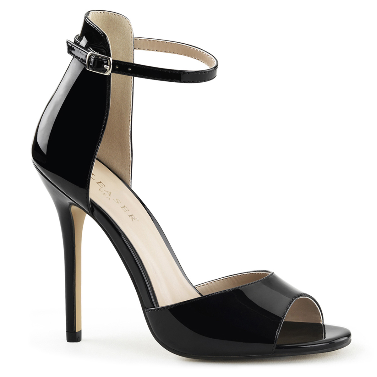"""PLEASER AMUSE-14 Women's 5"""" Stiletto Heels Closed Back Sandals at Sears.com"""