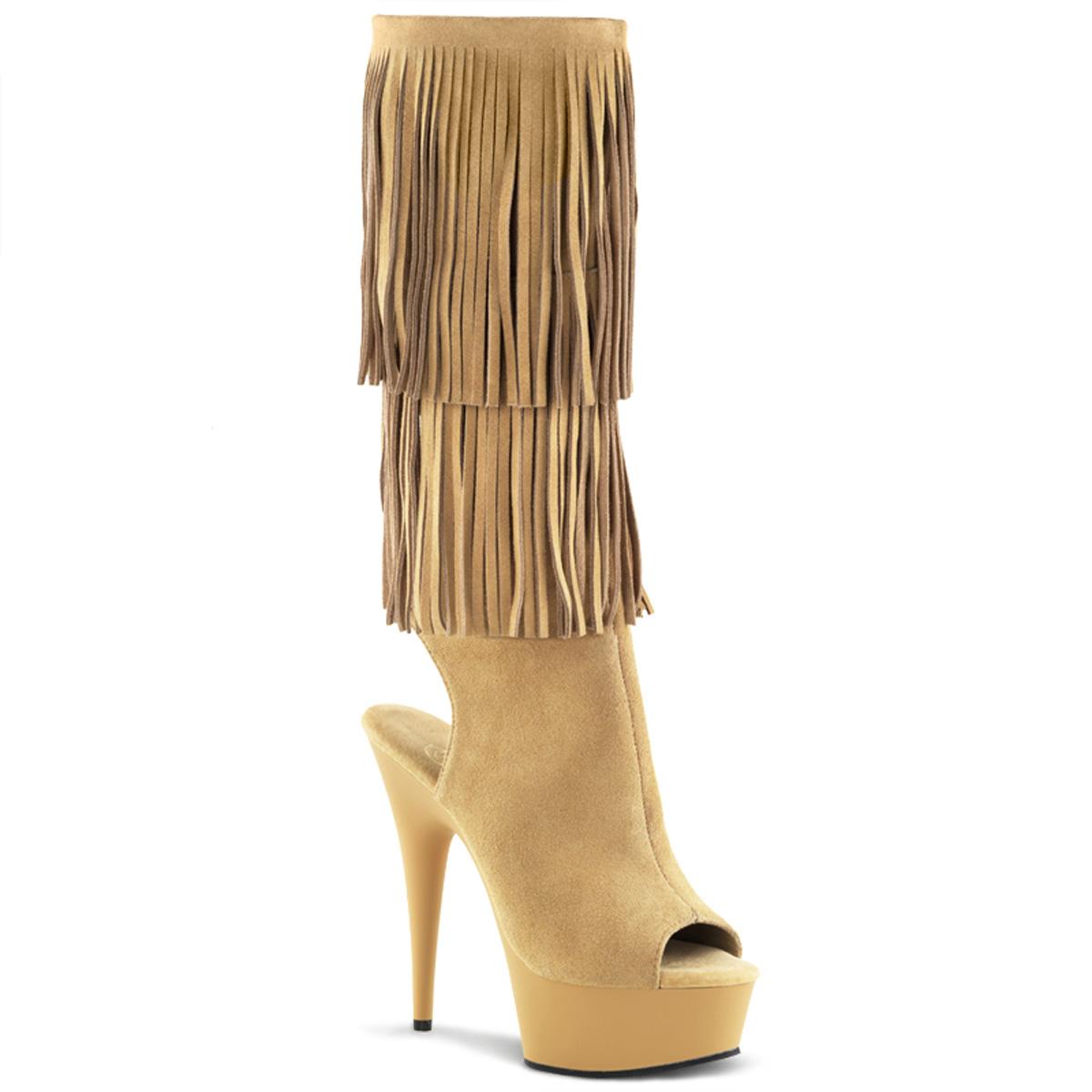 pleaser delight 2019 6 stiletto heel platform knee