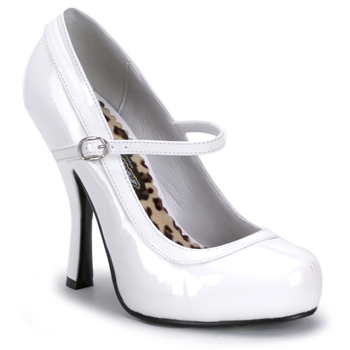 Funtasma by Pleaser Women's Pretty Mary Jane Pump - White Patent at Sears.com