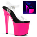 UV Reactive High Heels