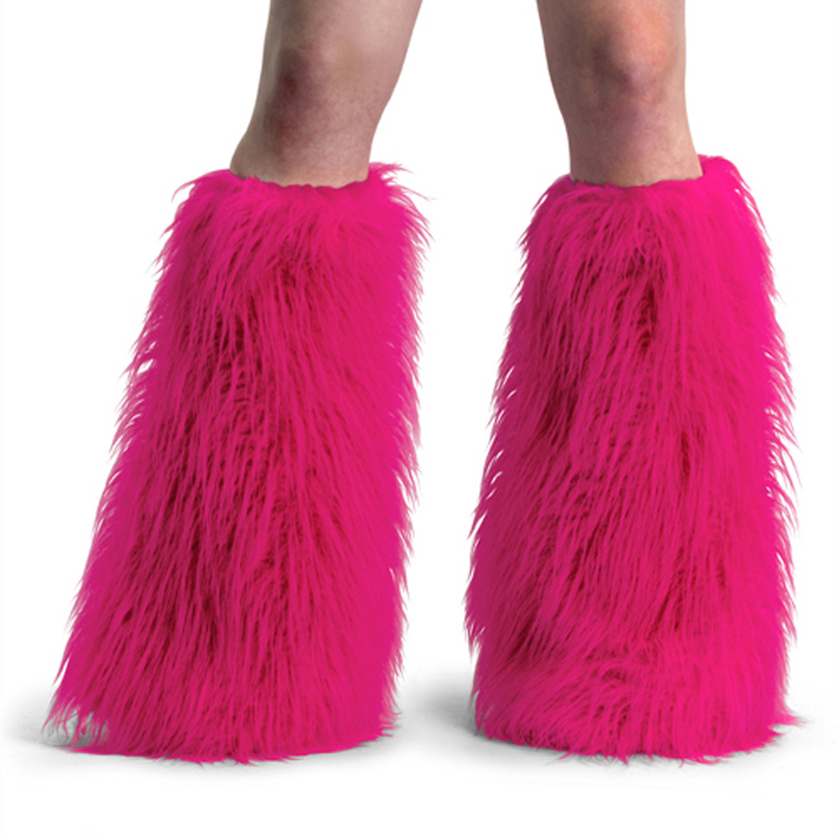 ACCESSORIES YETI-01 H.Pink Faux Fur Boot Sleeve/H. Pink Faux Fur