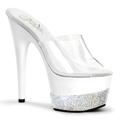 ADORE-701-3 Bröllop Fetisch Glitter & paljetter Sandal