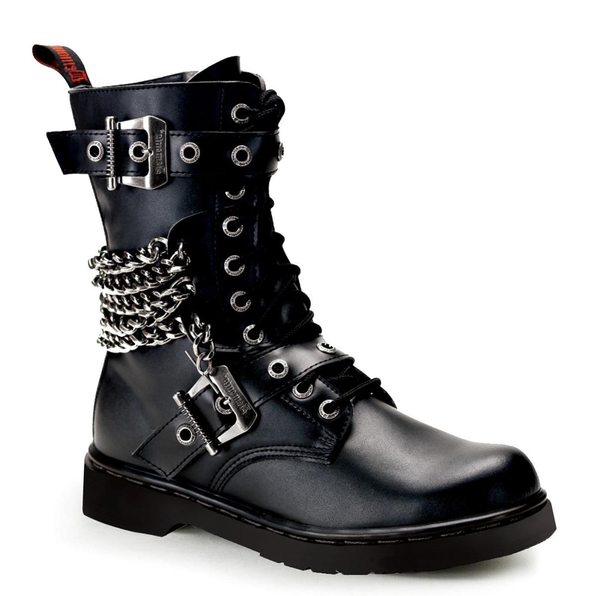 DEMONIA DEFIANT Men's Calf/Ankle Vegan Combat Boots | eBay