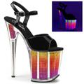 FLAMINGO-809SRS Fetisch Glitter & paljetter Sandalett UV-reaktiva
