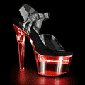FLASHDANCE-708 Fetisch LED Sandalett